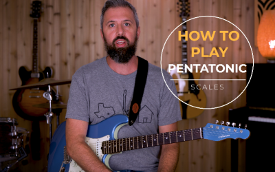 How to play a Pentatonic Scale on Guitar